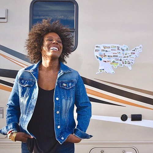 Carla Joelle Brown is nearing completion of a new film that documents her grandparents' journey in a RV around the ...