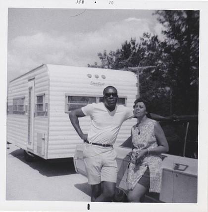 Benjamin and Frances Graham, in 1970.