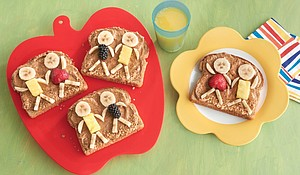 """Kids"" with Almond Toast"