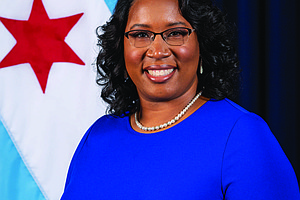 Melissa Conyears-Ervin (pictured) is the City of Chicago Treasurer, as well as chairman of the Chicago Catalyst Fund. The Chicago Catalyst Fund is contributing $50 million to the City of Chicago's $100 million Chicago Small Business Resiliency Fund, which will help small businesses with financial challenges due to COVID-19. Photo courtesy of City Treasurer Melissa Conyears-Ervin
