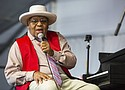 Ellis Marsalis at last year's New Orleans Jazz & Heritage Festival. New Orleans Mayor LaToya Cantrell announced Wednesday, April 1, that Marsalis has died. His family said he had contracted the coronavirus which led to pneumonia. He was 85.  (AP photo)