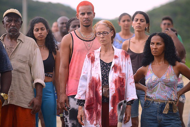 """Bacurau"" is a new genre-bending film about the exploitation of marginalized communities in Brazil's outback from the great Brazilian writer-director Kleber Mendonca Filho. It's one of the independent films being released online because of the coronavirus pandemic."