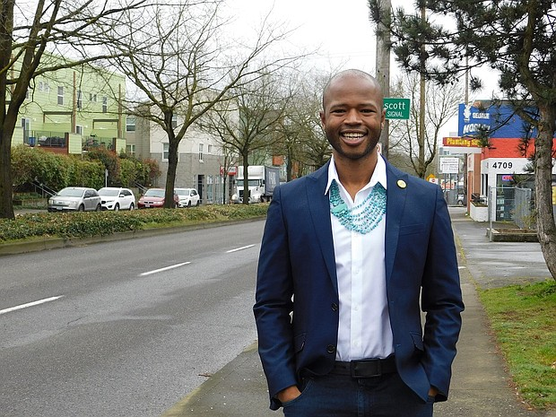 Steeped in Portland political activism for a decade, Cameron Whitten is stepping up to run for elected office by seeking a seat on the Metro Council in the upcoming May 19 Primary. Metro is a regional government which manages growth, infrastructure and development issues that cross jurisdictional boundaries.  Whitten most recently served as executive director of the nonprofit Q Center and is founder of the racial justice nonprofit Brown Hope.