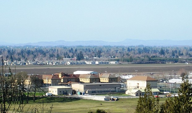 The Santiam Correctional Institution near Salem is run by the Oregon Department of Corrections. A lawsuit filed Monday by a group of inmates alleges the state hasn't taken the necessary steps to slow the spread of the coronavirus inside all of the state's prisons. It comes after three inmates and five staff members at the Santiam prison tested positive for the virus.