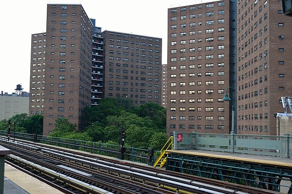Millions in funding will be shifted from the NYPD and to the New York City Housing Authority, Mayor Bill de ...