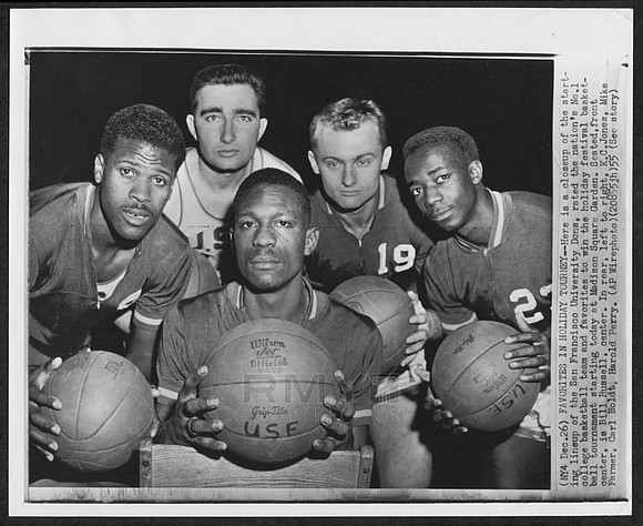 """During NCAA basketball's early years, there was a """"gentleman's agreement"""" not to play more than two African-American players at a ..."""