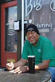 "Herman Baskerville, owner of Big Herm's Kitchen, has been dubbed the new ""Mayor of Second Street"" by some of the business owners. His social media posts and his willingness to lift up the 2nd Street community has not gone unnoticed by area residents."