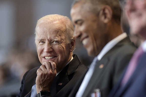"Former president calls Biden a ""close friend"" and praises him for his perseverance and compassion."