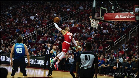 Even when he is not on the court, Houston Rockets guard Russell Westbrook is still making his presence felt in ...