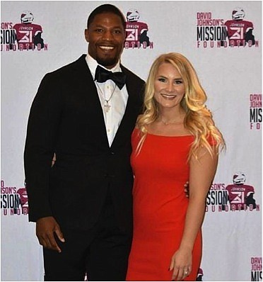 David Johnson and wife