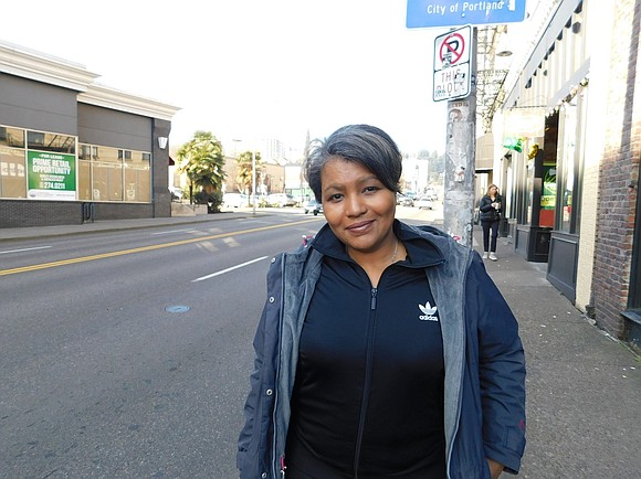 """Activist candidate Teressa Raiford wants to bring change to Portland government, """"We're criminalizing poverty, we're criminalizing brown people, we're criminalizing ..."""
