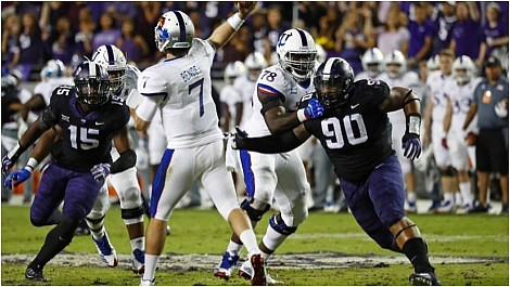 The Houston Texans filled a desperate need on Friday by selecting defensive lineman Ross Blacklock out of TCU with their ...