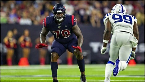 After signing a three-year $66 million contract extension last week with the Houston Texans, offensive lineman Laremy Tunsil became the ...