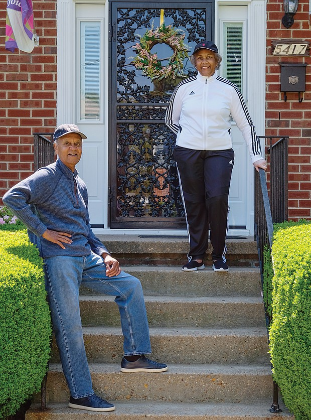 """Rudolph and Hattie Powell are used to being on the go, but are busy now from the safety of their home in the West End. Mrs. Powell is a retired Richmond teacher and Mr. Powell is the retired director of 4-H programs in Virginia and a contributing photographer at the Richmond Free Press. """"We make more phone calls to church and organization members and send a lot of cards and emails to the sick and bereaved,"""" the couple said. Because of the pandemic, they have """"more time to listen to music, read and FaceTime with the grandchildren."""""""