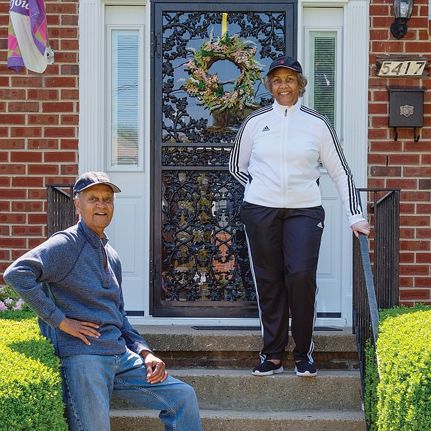 "Rudolph and Hattie Powell are used to being on the go, but are busy now from the safety of their home in the West End. Mrs. Powell is a retired Richmond teacher and Mr. Powell is the retired director of 4-H programs in Virginia and a contributing photographer at the Richmond Free Press. ""We make more phone calls to church and organization members and send a lot of cards and emails to the sick and bereaved,"" the couple said. Because of the pandemic, they have ""more time to listen to music, read and FaceTime with the grandchildren."""