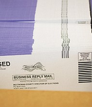 Ballots for the May 19 vote-by-mail election are out.