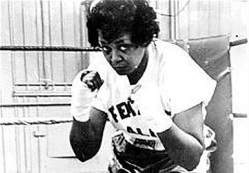 "For her skills in the ring and her volubility, Jackie Tonawanda was known as ""The Female Ali."""
