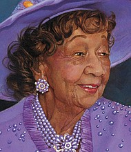 In memory of Dr. Dorothy Irene Height, contributions may be made to the National Council of Negro Women at www.ncnw.org under donate.
