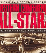 """Jus Family Records has re-issued the 1997 release """"Western Conference All-Starz,"""" a double CD capturing Portland's hip-hop scene and the wealth of talent comprising Portland's vibrant hip-hop stars."""