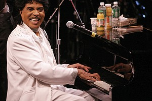 Little Richard performs in August of 2004 at the Westbury Music Fair in Westbury, N.Y.