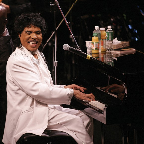 """Little Richard, the self-proclaimed """"architect of rock 'n' roll"""" who built his groundbreaking sound with a boiling blend of boogie ..."""