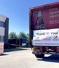Coca-Cola teams up with supply chain partners and a nationwide network of makers to produce and distribute thousands of protective face shields to healthcare workers and first responders on the front lines of the COVID-19 crisis in Maryland.