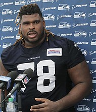 The Baltimore Ravens signed former Seattle Seahawks DJ Fluker to a one-year contract. He will compete with Ben Powers and Tyre Phillps for the starting spot to replace Marshal Yanda.