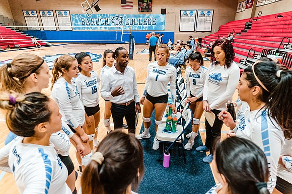 Baruch College men's volleyball was dominating CUNYAC play when the season was halted due to COVID-19. In his fourth year ...