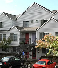 Ankeny Woods is an affordable housing complex in outer southeast Portland operated by Human Solutions. As many Oregonians struggle to pay rent during the coronavirus public health crisis, $8.5 million is being made available by the state of Oregon to provide rent relief.