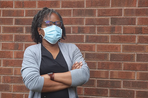 Dr. Veronica Ayala-Sims, a 48-year-old internal medicine physician, is among thousands of people across Virginia who have volunteered with the Virginia Medical Reserve Corps during the COVID-19 pandemic.