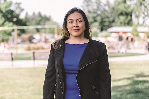 A prominent member of the Latino community won a historic victory for a seat on the Portland City Council Tuesday ...