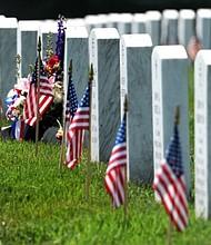 The American Legion pays tribute to America's fallen veterans
