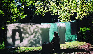 """Dedicated to Toni Morrison, Laundry Day was conceptualized around Poet, Victoria P. Allen's poem, """"Mother's Stain."""""""