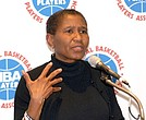 NBA Players' Association executive director Michelle Roberts