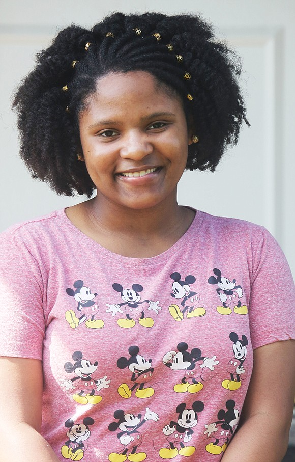 Amia A. Graham, a senior at Thomas Jefferson High School, has the distinction of graduating as the top student in ...