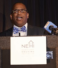 The North East Housing Initiative is a nonprofit organization focused on changing and revitalizing Baltimore. (Above) Garrick Good, Executive Director of North East Housing Initiative.