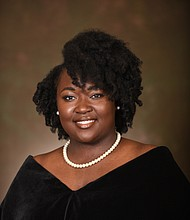 Kendra Grissom from West Baltimore was named the 2020 Valedictorian at Spellman College. Grissom plans to continue her studies at Johns Hopkins University to pursue a Ph.D. in history. Her overall goal is to become a professor at a historically black college or university.