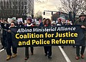 The Albina Ministerial Alliance is comprised of faith leaders from the African American community and its AMA Coalition for Justice and Police Reform represent the wide community interest in justice and police reform in Portland.