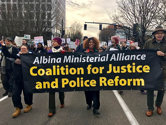 The Albina Ministerial Alliance, one of the oldest ministerial alliances in the city of Portland, stands in solidarity with George ...