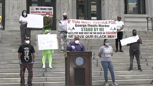 Thousands of people took to the streets of Newark on Saturday to protest the recent police killing of George Floyd