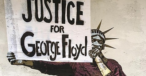 George Floyd was also covered internationally with many Africans expressing disgust and dismay over the cold-blooded police action.