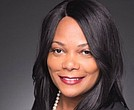Darnisha Harrison, Louisiana State University grad and founder and CEO of Georgia-based Ennaid Therapeutics, LLC.