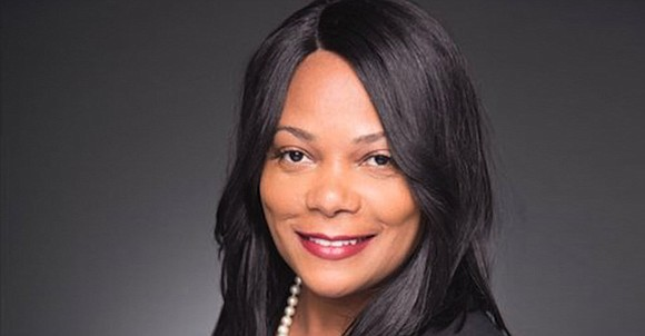 Darnisha Harrison, a Louisiana State University grad and founder and CEO of Georgia-based Ennaid Therapeutics, says that scientists working for ...