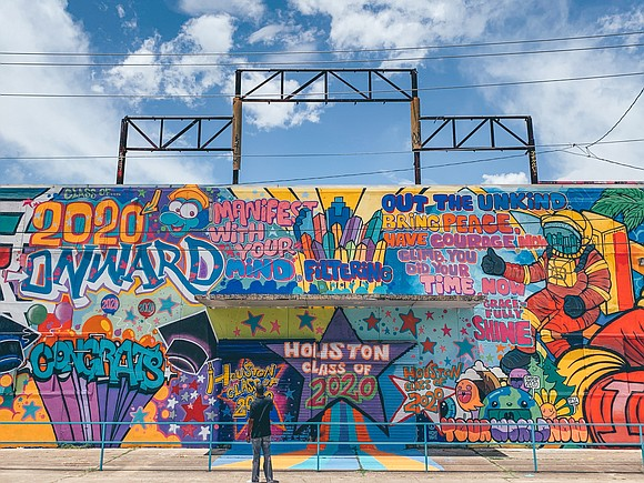 A new mural celebrating the Houston area class of 2020 has been added to the iconic collection of murals in ...