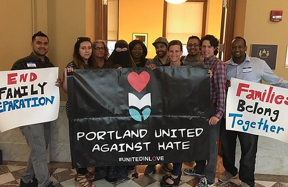 Portland United Against Hate stands with justice-seeking people who call for an end to police brutality and an end to ...