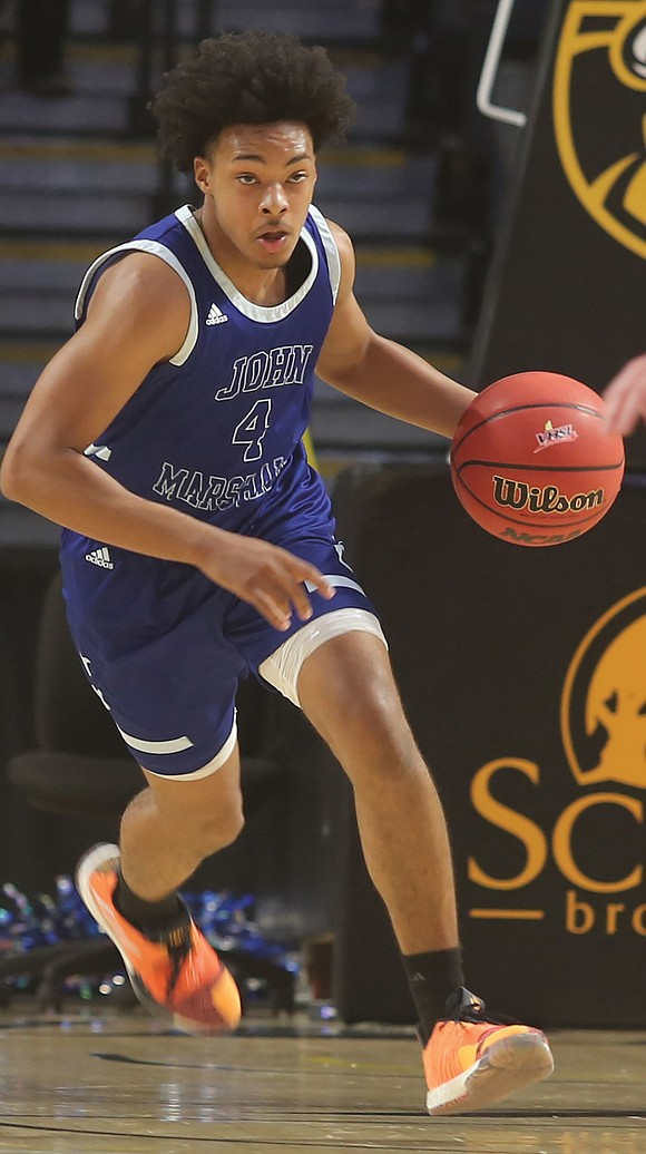 And the envelope please ... John Marshall High School basketball standout Jason Nelson has narrowed his list of college options ...