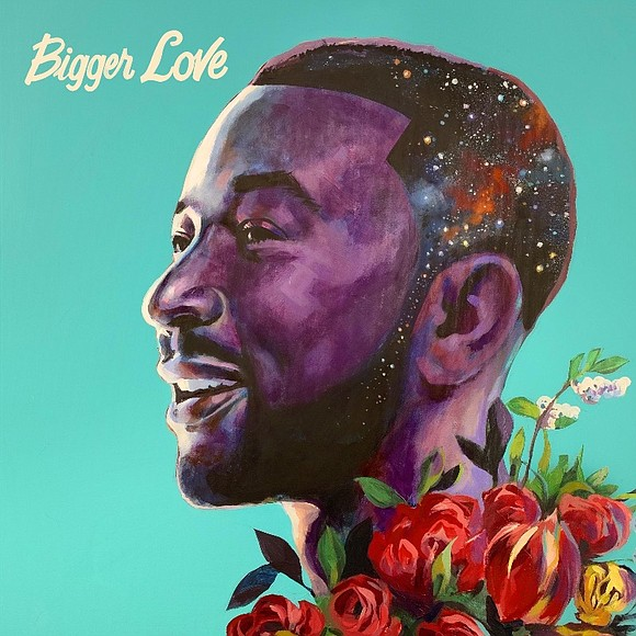 EGOT winner John Legend has revealed the cover and track list to his new album BIGGER LOVE which will release ...