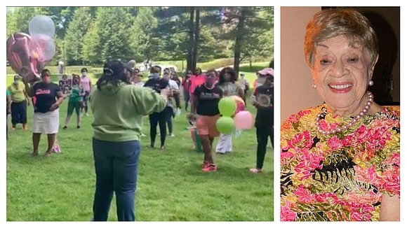 More than 100 members of Alpha Kappa Alpha Sorority Incorporated gathered on Sunday, June 14 to celebrate the 100th birthday ...