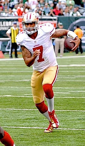 If quarterback Colin Kaepernick were to get a tryout, make a comeback, return as a player to the NFL, he'd ...
