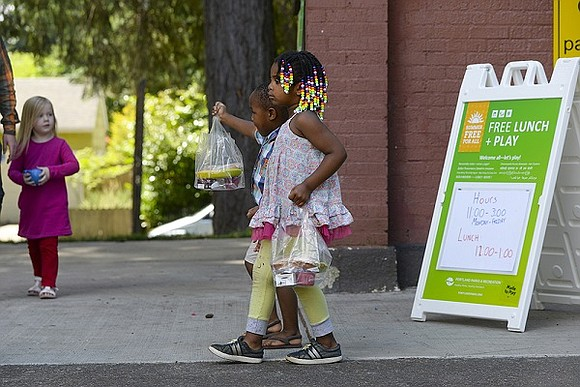 A Lunch + Play summer program for kids by Portland Parks & Recreation returns on Monday with expanded free meals ...